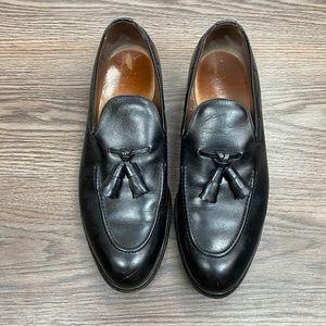 Allen Edmonds Saratoga Black Tassel Loafers 9 C